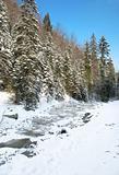 half frozen mountain gill