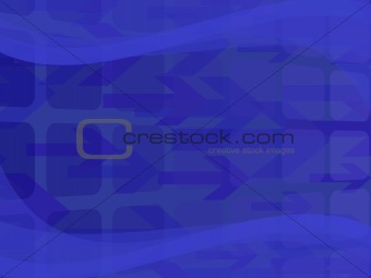 abstract background with arrows and waves