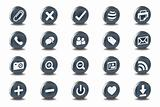 Mono Inset Various Vector Icons