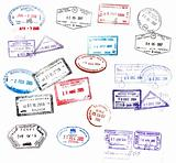 visa stamps
