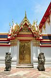 Door at Wat Pho Temple