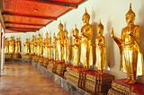 Golden Buddha image,thailand