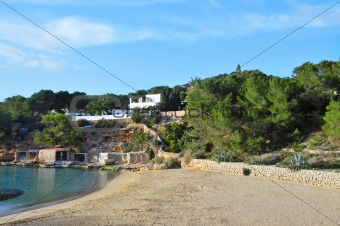 Cala Gracio, Ibiza, Balearic Islands, Spain