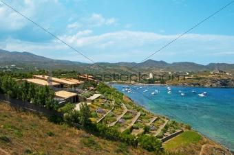 A view of Cap de Creus, Costa Brava, Spain