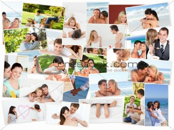 Cute couples spending good time together