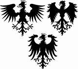 heraldic eagle crest