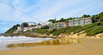 Cala Crancs beach, Salou, Spain