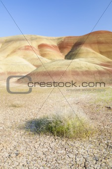 Painted Hills John Day Fossil Beds National Park in Oregon, natu