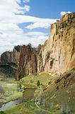 Smith Rocks State Park in Oregon USA