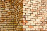 coloured bricks wall