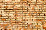 coloured bricks wall background