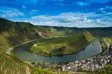 Moselle loop in Bremm