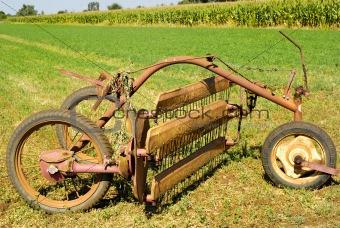 Old Agricultural Instrument
