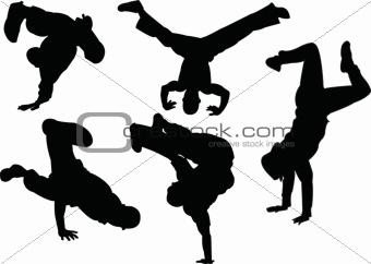 break dancers collection