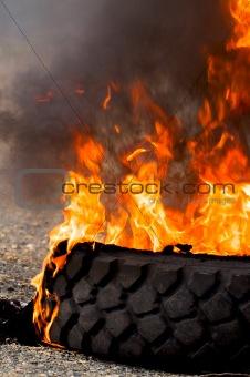 tire fire