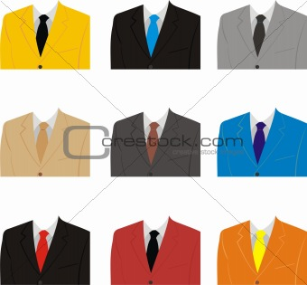 A man's suit