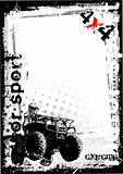 motor sport poster