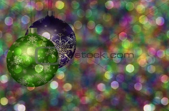 Christmas Tree Ball Illustration