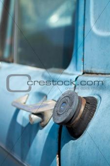 Old truck fuel cap