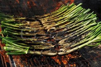 calçots, catalan sweet onions
