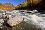 Tahltan River in Northern British Columbia