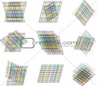 abstract element background vector art design