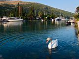 Rozat town in Croatia