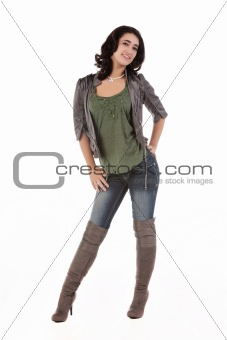 beautiful young teenage woman
