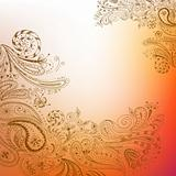 Eastern hand drawn background
