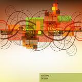 Swirls abstract