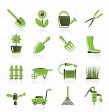 different kind of tools icons
