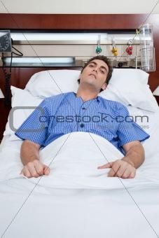 A severe male patient