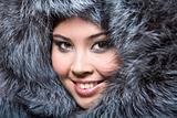 Face in furs