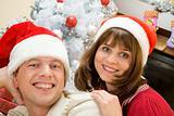 Santa couple