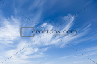 Stratospheric cloudscape