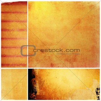 The Best of collection grunge background