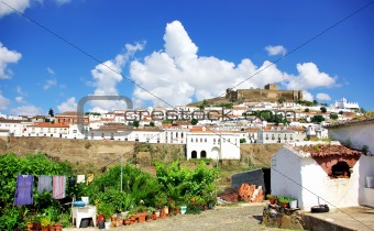 Landscape of Mertola .