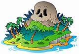 Pirate skull island