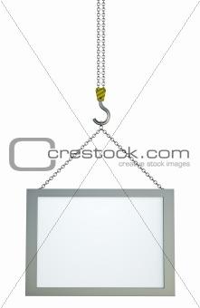 Blank screen on hook