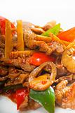 Chinese beef and vegetables