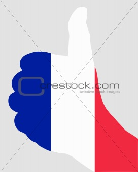 French hand signal
