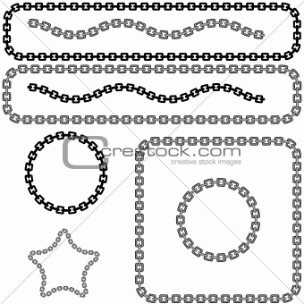 Chain Link Design Elements