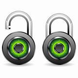 Round padlocks