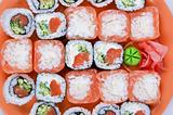 the sushi