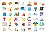 education-icon-set