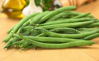 Fresh Raw Green Beans