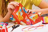 Wrapping gifts