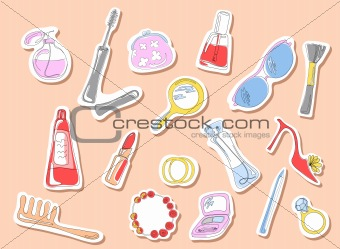 beauty stickers