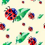 ladybirds-and-leaves