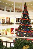 At Christmas mall